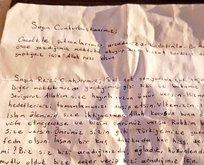 Erdoğana duygulandıran mektup!