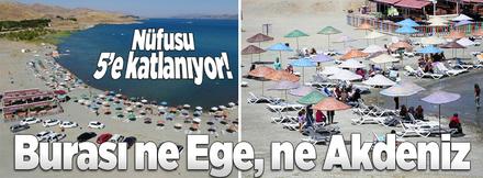 Burası ne Ege, ne de Akdeniz