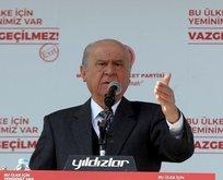 Bahçeli: Kerkük ve Musul, Ankara ve İstanbul'dur