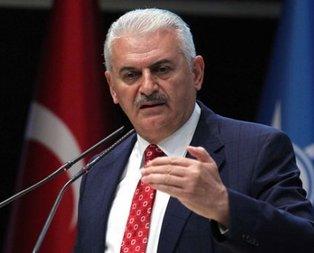 Başbakan Yıldırımdan Mescid-i Aksa çıkışı