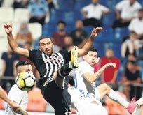 Beşiktaş taraftarı takımına kavuştu