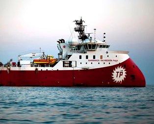 Türk gemisini gören Rumlar panikledi