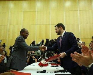 Türkiye ile Tanzanya arasında 9 anlaşma imzalandı