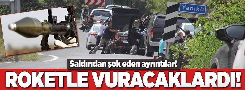 Kılıçdaroğlunun konvoyuna roket atılması engellendi