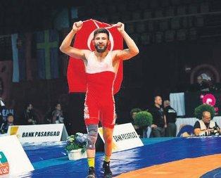 Rus rakibini yenen Atlı Avrupa Şampiyonu oldu