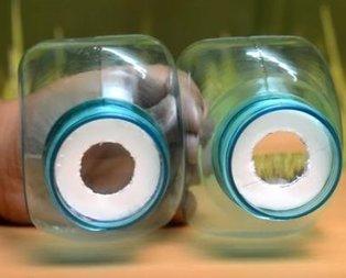 Pet şişeden sanal gerçeklik gözlüğü!