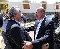 Çavuşoğlundan Yunanistana sürpriz ziyaret