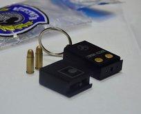 Ankarada anahtarlık tabanca ele geçirildi