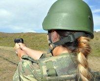İşte sınırda kuş uçurtmayan kadın komutanlar