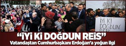 Cumhurbaşkanı Erdoğan'ın doğum gününü kutladılar