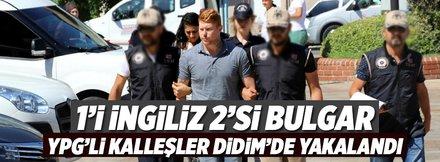 Terör örgütü şüphelisi 1 İngiliz ve 2 Bulgar'a gözaltı