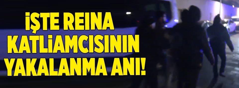 İşte Reina saldırganının yakalanma anı!