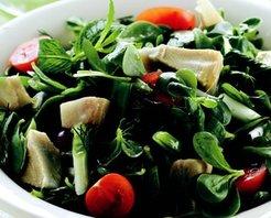 Enginarlı Semizotu Salatası Tarifi