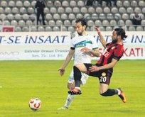 Eskişehirspor avantajı kaptı