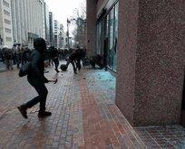 Eylemciler Washingtonı karıştırdı
