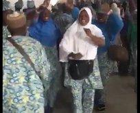 Medineye ulaşan Afrikalı hacı adaylarının sevinci