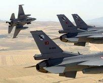 Türk jetleri PKKya bomba yağdırdı