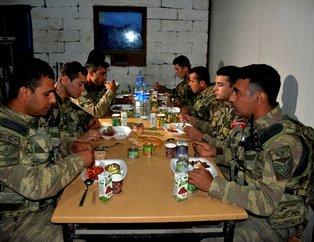 Mevzide iftar ve sahur