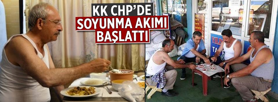 Kılıçdaroğlu CHPde soyunma akımı başlattı