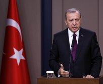 Cumhurbaşkanı Erdoğandan Halisdemir ailesine taziye