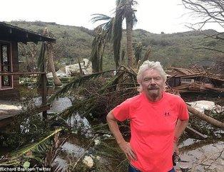 Ünlü milyarderin lüks adası yerle bir oldu