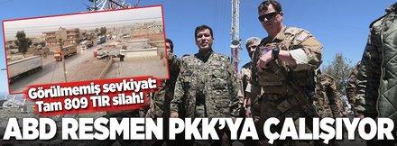 ABD'den PKK'ya 809 TIR silah