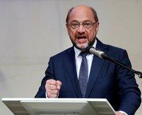 Martin Schulz'tan küstah tehdit