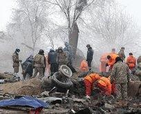 Kırgızistandaki uçak kazasında ölü sayısı yükseldi