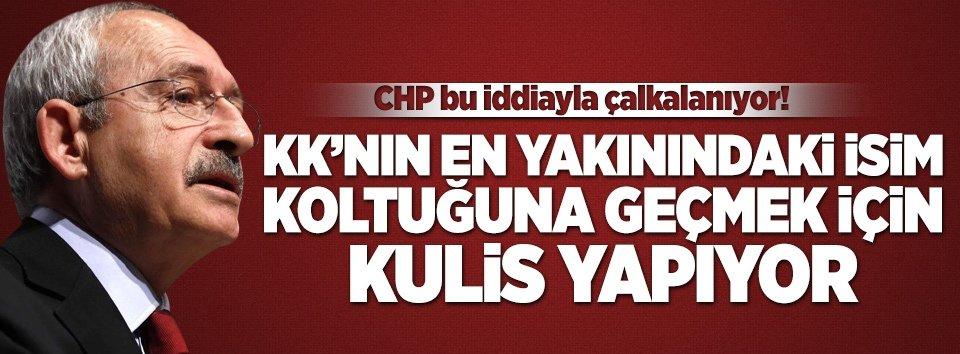CHP kulisleri bu iddiayla çalkalanıyor