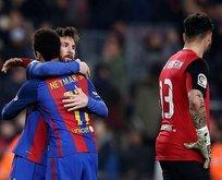 Barcelona, Messi ile 89. dakikada kazandı