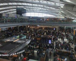 İngilterede kaos! Uçuşlar yapılamıyor