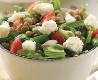 Mercimekli Salata Tarifi