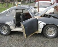 1955 model Porscheu baştan yarattı!