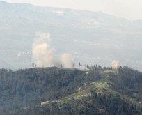 Esad Rejiminin helikopteri düşürüldü