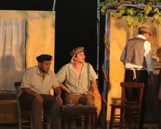 Köylüler tiyatro ile buluştu