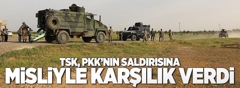 TSK, PKKnın saldırısına misliyle karşılık verdi
