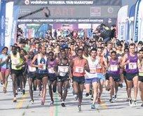 Vodafone Maratonu yarın nefes kesecek