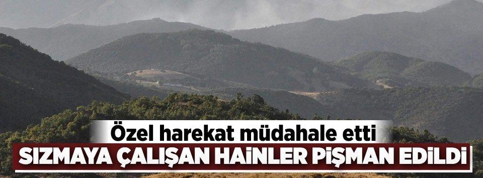 PKKnın sızma planı son anda önlendi!