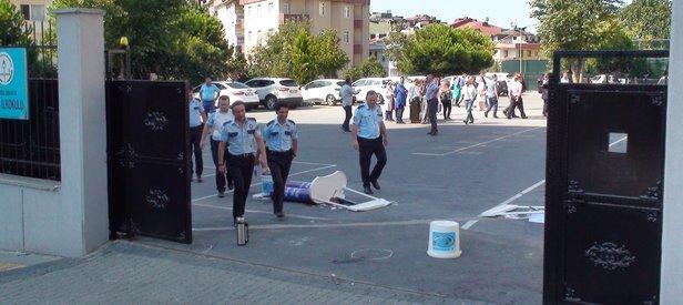 Servisçi çatışmasında 8 kişi gözaltına alındı
