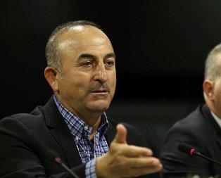 Bakan Çavuşoğlu: Başörtülü kızlarımızın başörtüsünü zorla çıkarmışlar