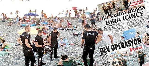 Plaj operasyonundan da Doğan Medyası çıktı