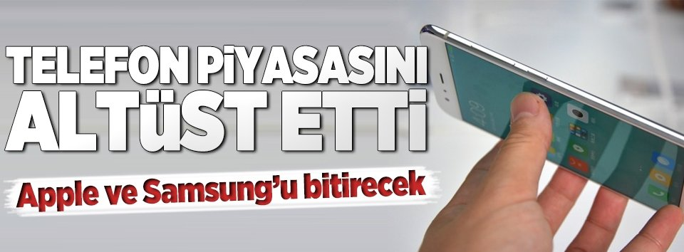 Apple ve Samsungu bitirecek!