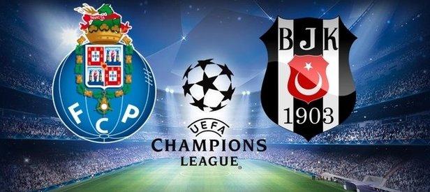 Porto-Beşiktaş maçı saat kaçta hangi kanalda?