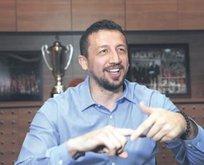 Hidayet Türkoğlu pembe tablo çizdi