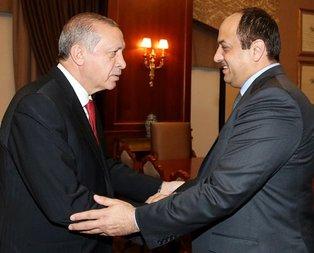 Erdoğan Katar Savunma Bakanını kabul etti