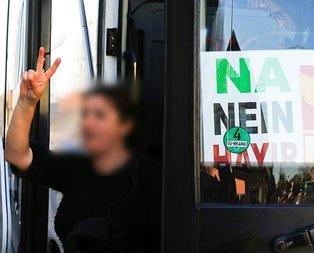 Almanlardan PKKlılara ücretsiz otobüs!