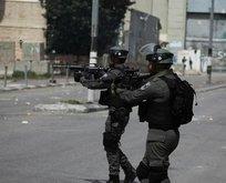 İsrailden Batı Şeriadaki gösteriye müdahale
