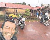 Bodrumlu gezgin Kolombiya'da mahsur