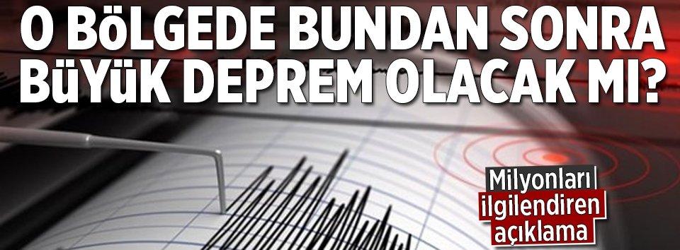 Bodrum'u rahatlatacak deprem açıklaması