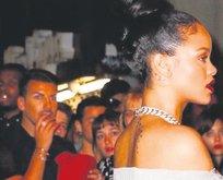 Rihanna'yla parti keyfi